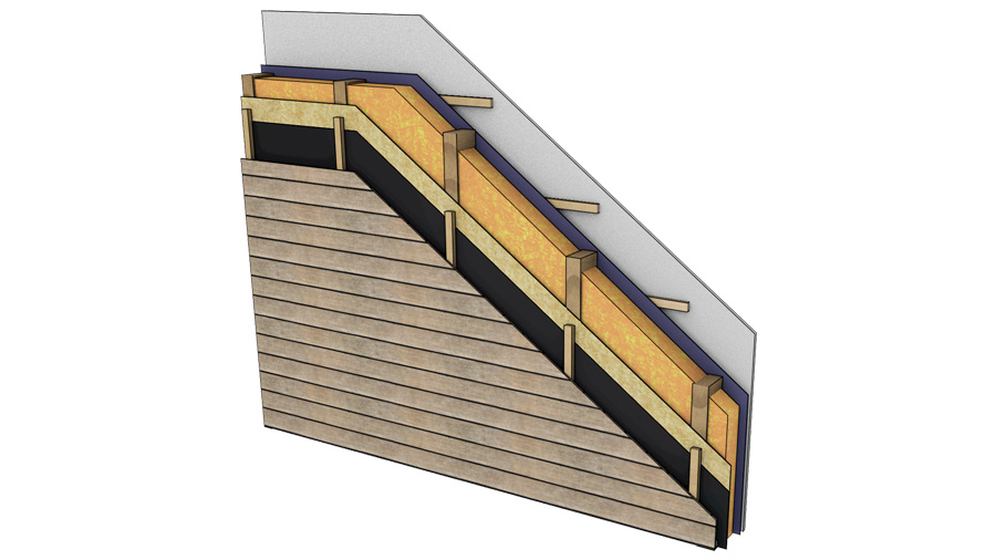 Insulation materials in timber framed structures