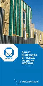 The certification of thermal insulation product quality -